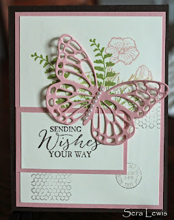 Mother's Day card using Butterfly thinlets
