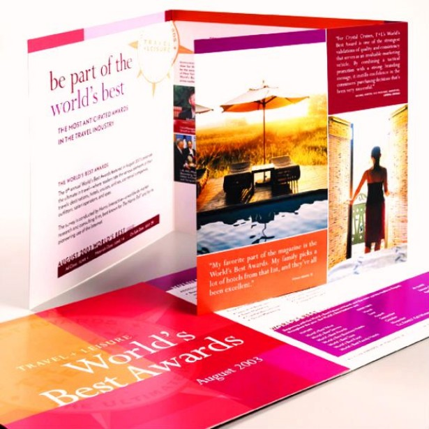 attractive brochure designs - attractive folded brochure designs ladies mails