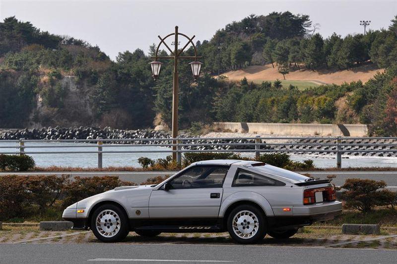 日本車, 日産, クラシックカー, Nissan 300ZX Z31 Fairlady Z, stary japoński samochód, youngtimer, JDM, sportowy, zdjęcia, fotki, 50th anniversary edition