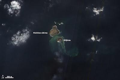 Nueva isla japonesa Niijima