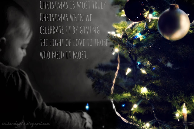 Christmas Photography with Christmas Quote #christmasphotography