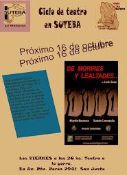DE MORIRES Y LEALTADES 2014/ 2015
