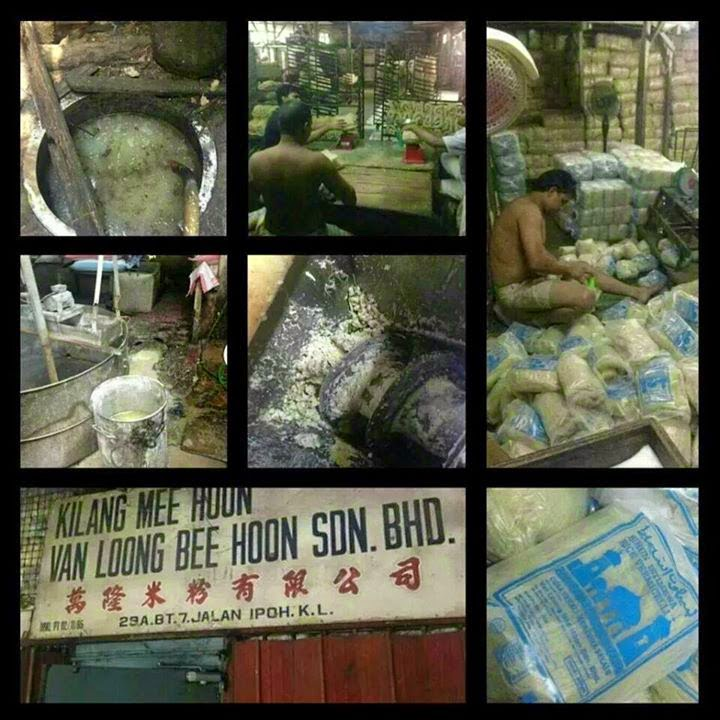 Dalam Kilang Kilang Bihun Cap Masjid Van Loong Kotor