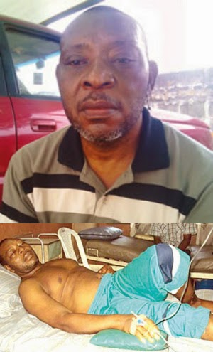 prince james uche kidney failure