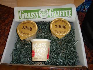 Grasshopper Porridge Pots