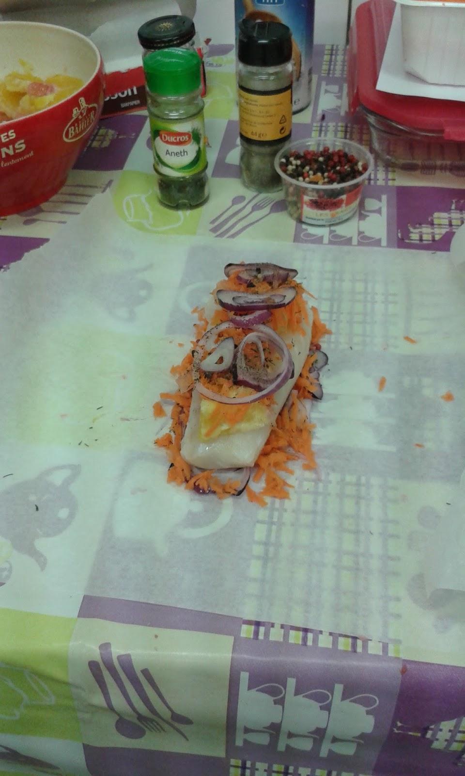 L 39 atelier cuisine dos de cabillaud - L atelier cuisine de patricia ...
