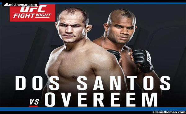 Junior Dos Santos vs Alistair Overeem (FULL FIGHT REPLAY VIDEO) - UFC on FOX 17