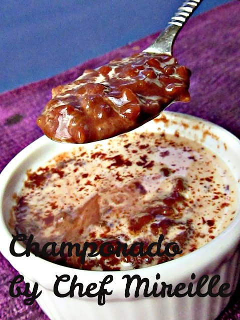 ... Global Creations: Champorado (Filipino Chocolate Rice Pudding