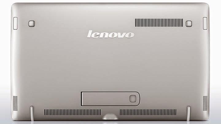 задняя сторона моноблока Lenovo Horizon 2S