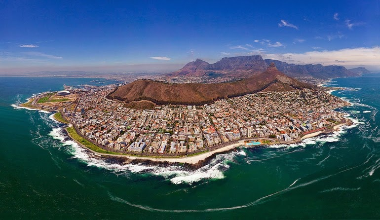 aerial photography - Cape Town, South Africa
