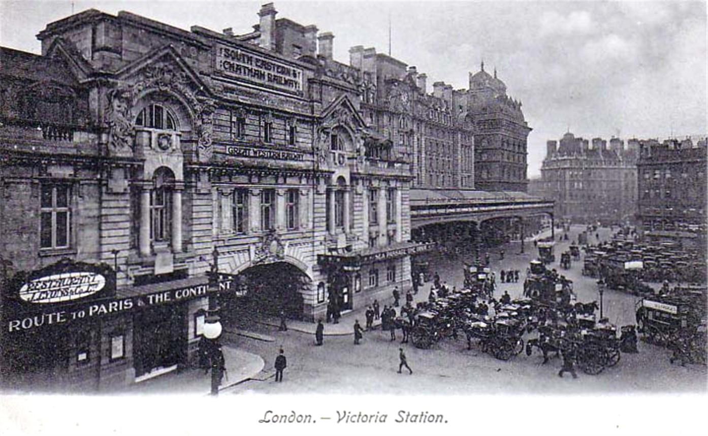 London Victoria Train Station Hotels