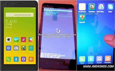 Root dan Install CWM Recovery Xiaomi Redmi 2 Prime
