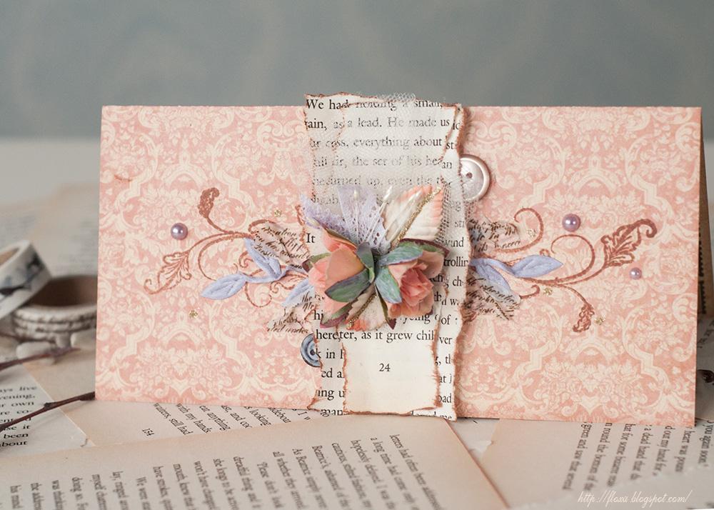 Винтажные открытки в скрапбукинге
