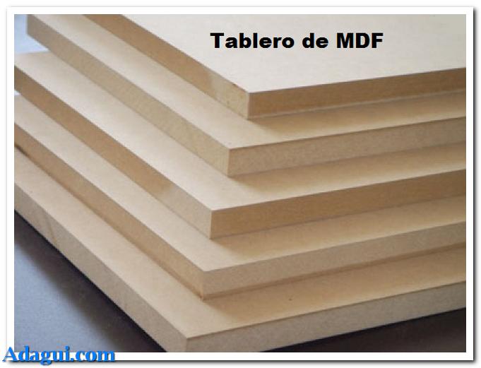 El tablero placa de mdf caracteristicas para uso en muebles