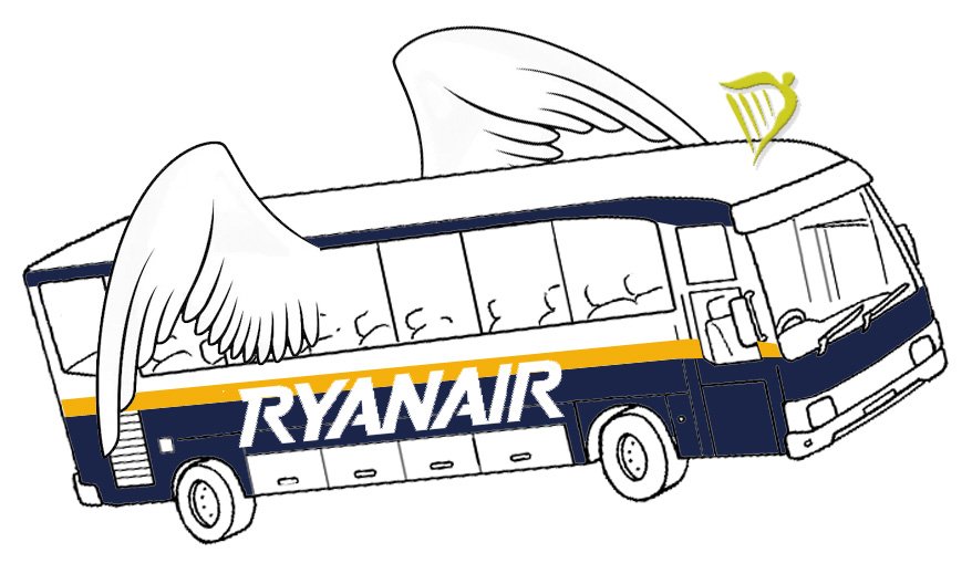 bus ryan air: