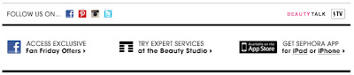 May 29, 2012 Sephora email
