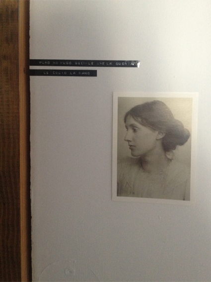 virginia woolf postcard justina blakeney skillshare