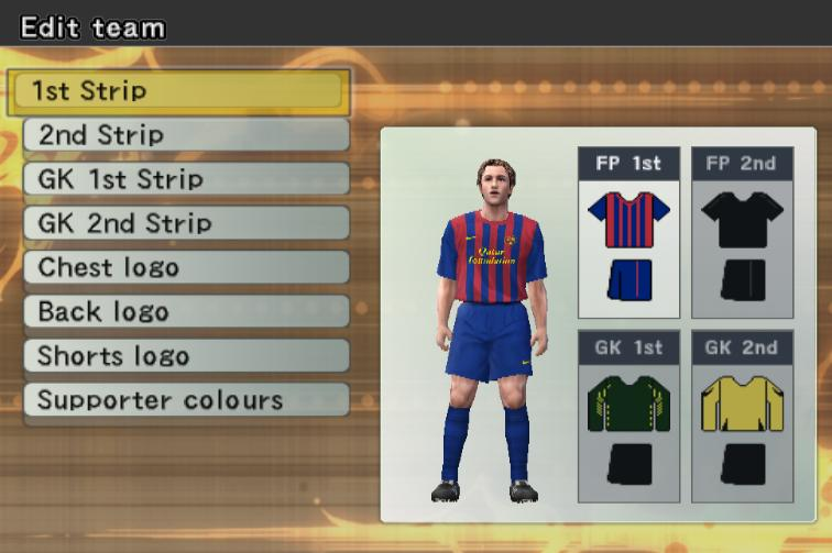 download Option file PES 6 January 2012 from here - it's Free Download