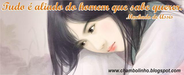 Capa para Facebook com Frase de Machado de Assis