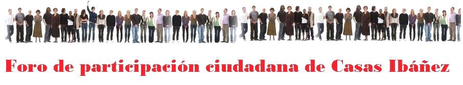 Foro participación Casas Ibáñez