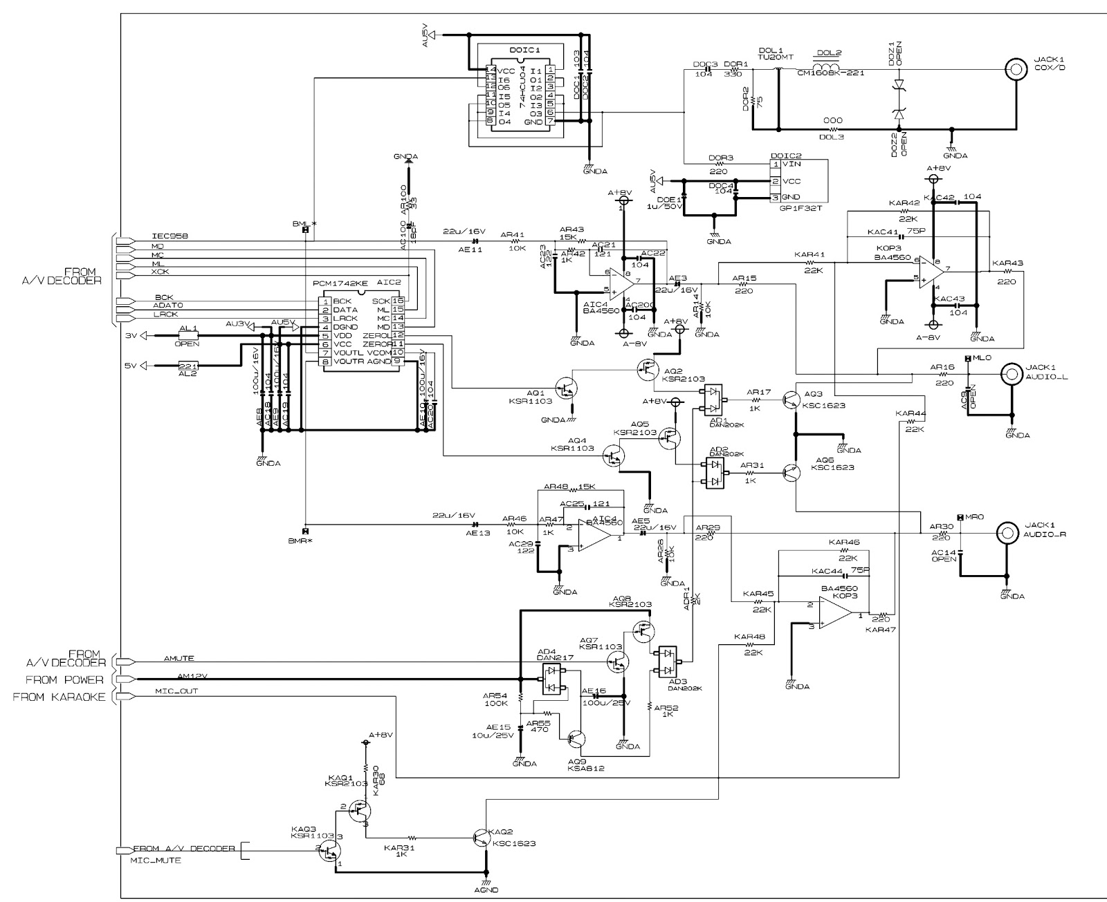 Excellent Atx 450w Smps Circuit Diagram Photos - Electrical and ...