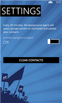 how to sync your google contact with windows phone