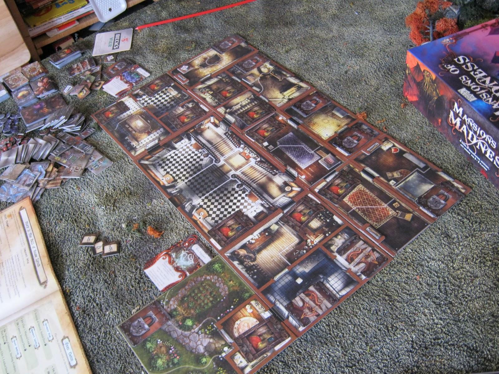 NECROPOLIS The Horror Skirmish Miniatures Game Review Mansions - Mansion design games