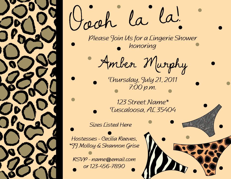 giraffic arts: Bachelorette Party fun!