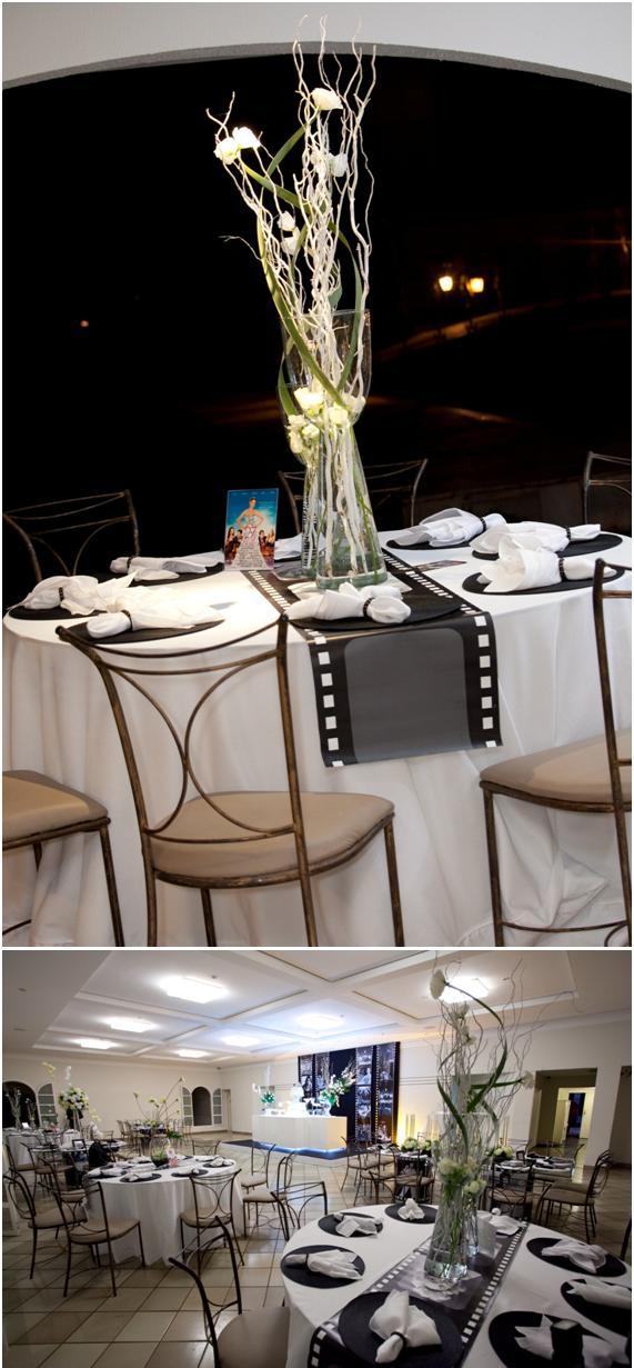 decoracao casamento tema cinema:Coisinhas de Noiva: Casamento Temático – Cinema