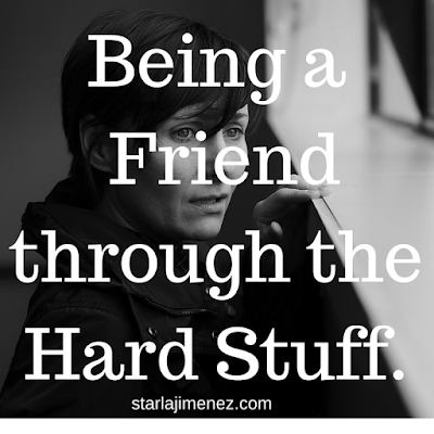 How to be a true friend. Friends for the hard times in life.