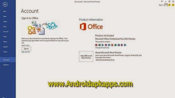 Microsoft Office Pro Plus 2013 SP1 VL( x64/x86) Full Activator Terbaru Free Download