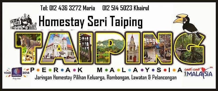 HOMESTAY TAIPING SERI                                           Rehat, Rawat Dan Relax