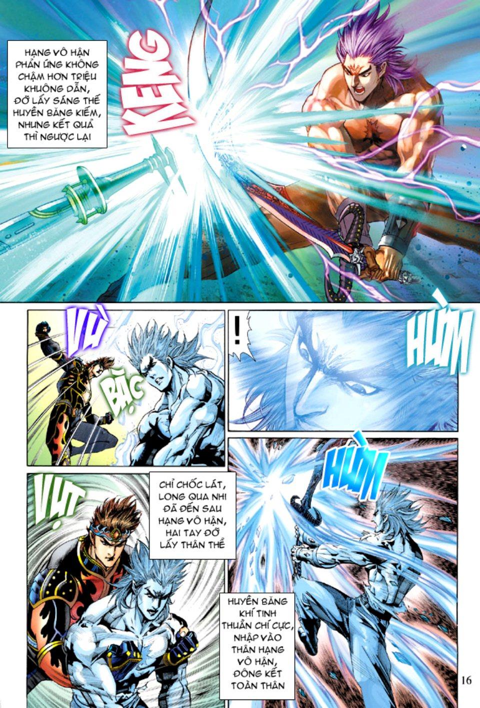 Thiên Tử Truyền Kỳ 5 - Như Lai Thần Chưởng chap 212 - Trang 16