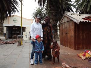 Bastidores da série Contos da Namíbia
