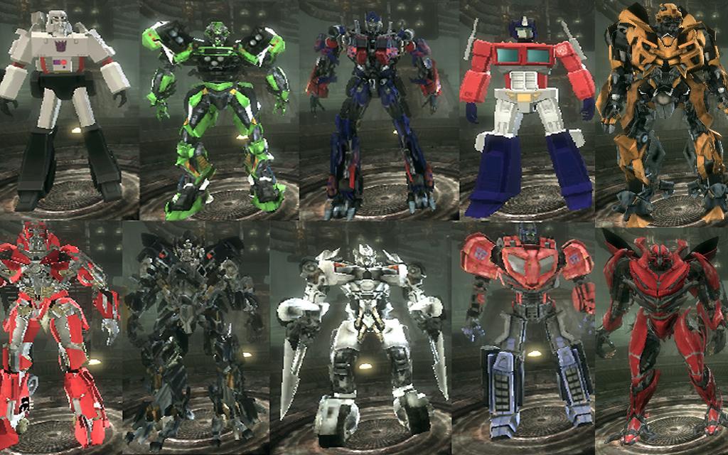 Transformers 5 Characters List | www.pixshark.com - Images ...