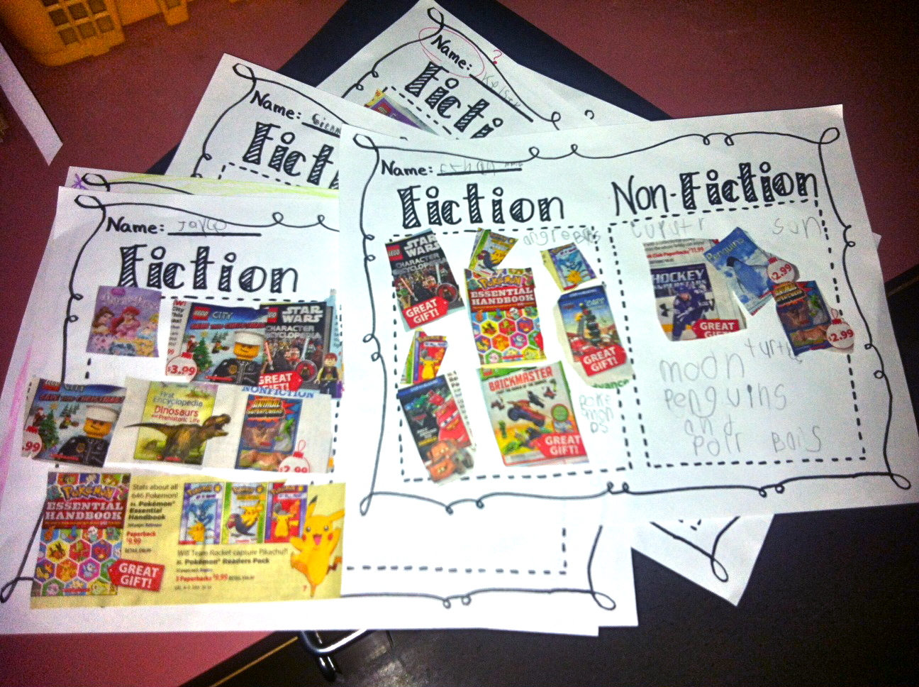 worksheet. Identifying Fiction And Nonfiction Worksheets. Carlos ...