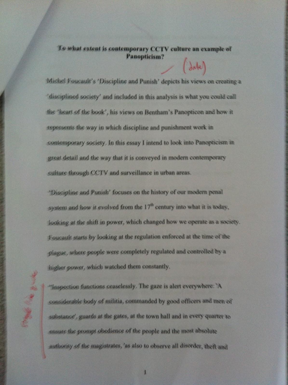 panopticism by michel foucault essay