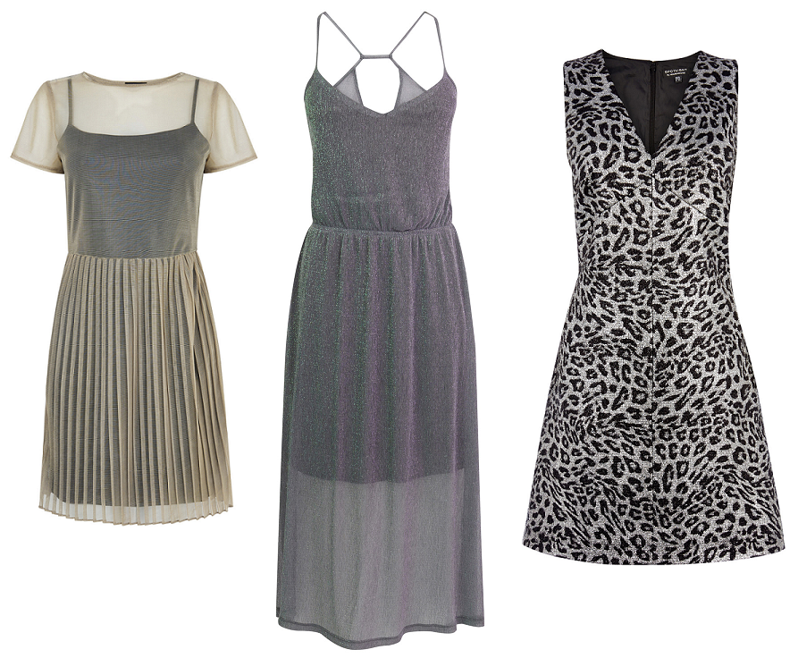 perfect party dresses - metallics - warehouse