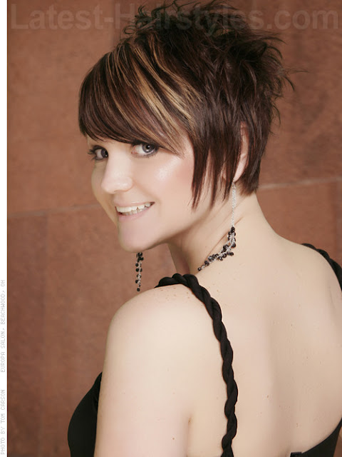 Latest Short Choppy Hairstyles 2012 Fashion Designer Quot