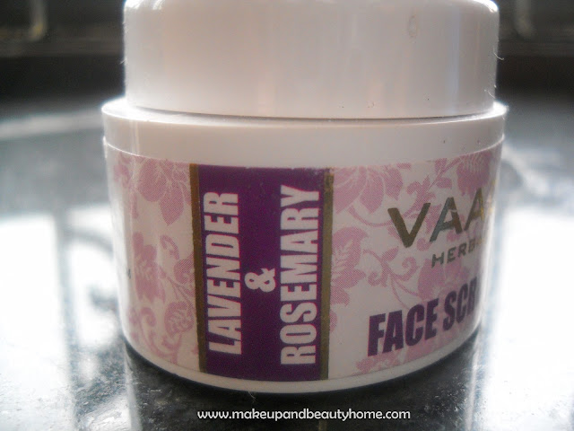 Vaadi Herbals Lavender & Rosemary Face Scrub Review