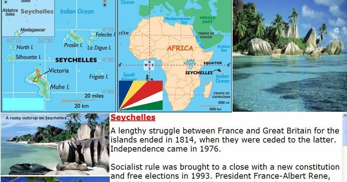 Manash Subhaditya Edusoft Seychelles May Be The Garden Of Eden Of Africa