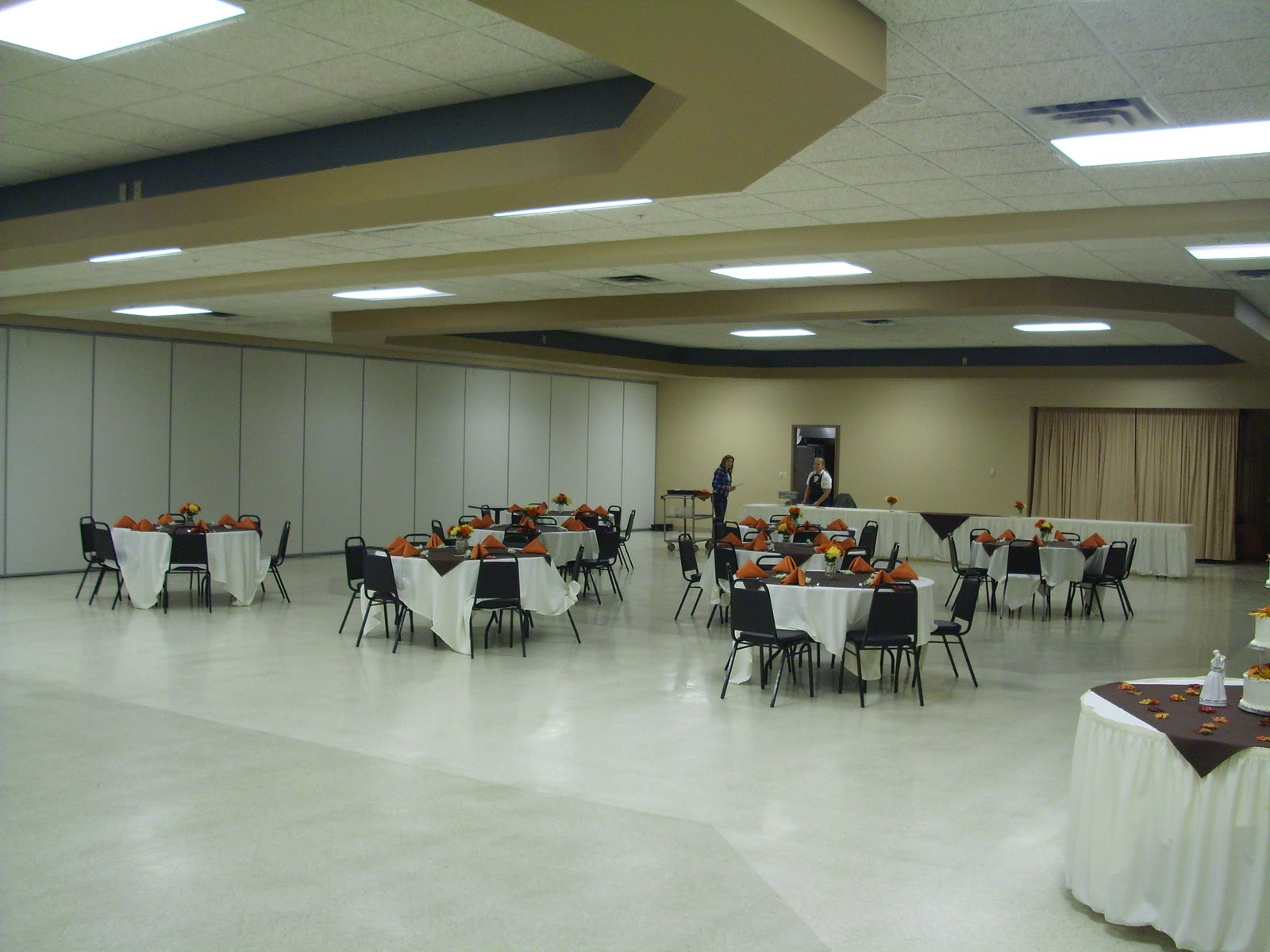 K Of C Hall Before Our Wedding Lighting