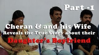 My daughter's Boy friend is cheat – Director Cheran and His wife revel the true nature of the Boy