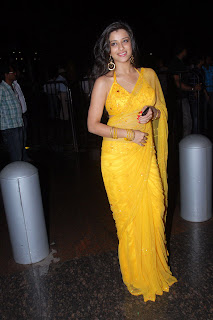 Telugu+actress+Madhurima+Yellow+Saree009 Telugu Actress Madhurima in Yellow Saree Photo Gallery