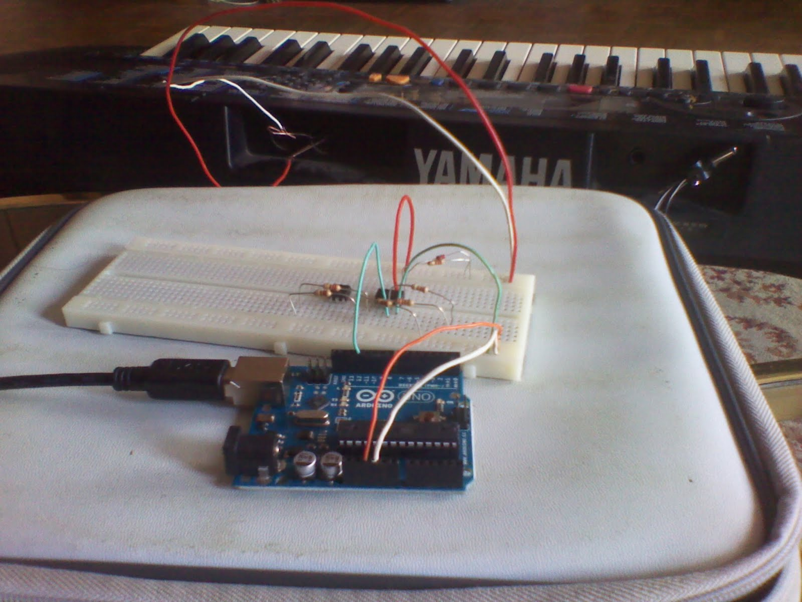 Lab: MIDI Output using an Arduino ITP Physical Computing