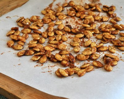 Spicy Sweet Pumpkin Seeds