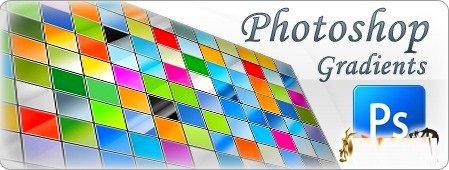 اكبر مجموعة تدريجات فوتوشوب 6000 تدريج 6000 gradients for Photoshop Arab-Design