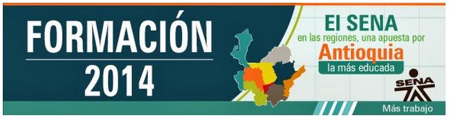 El Sena en las Regiones, una apuesta por Antioquia la más educada