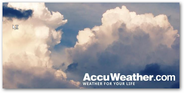 AccuWeather for Honeycomb