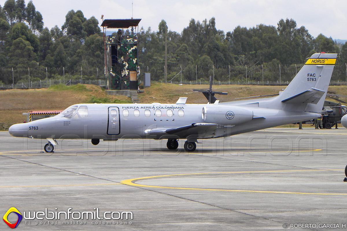 Cessna SR-560 Fuerza aerea colombiana